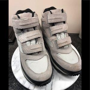 LLBean Snow Sneaker boots, size 8.5, Velcro